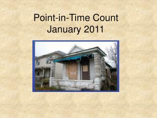 Point-in-Time Count January 2011