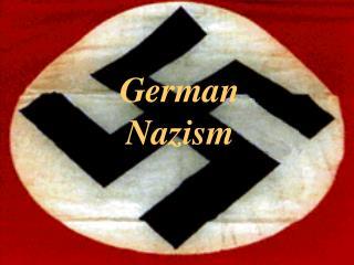 German Nazism