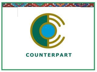 Counterpart International: fundada  hace 41 años  Presencia en más de 30 países Principales áreas de trabajo: Sociedad
