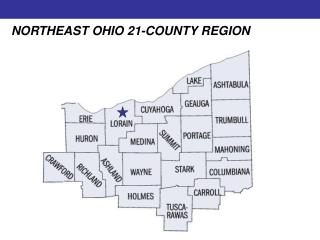 NORTHEAST OHIO 21-COUNTY REGION