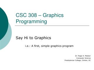03 - Say Hi to Graph..