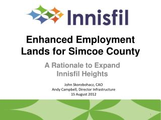 Enhanced Employment Lands for Simcoe County
