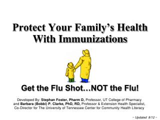 Protect Your Family�s Health  With Immunizations