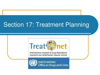 Section 17: Treatment Planning