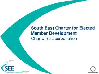 South East Charter for Elected Member Development Charter re-accreditation