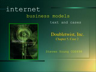 Doubletwist, Inc. 				Chapter 5, Case 2