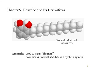 Chapter 9: Benzene and Its Derivatives