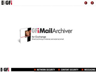 for Exchange Email archiving of internal and external email
