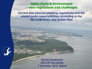 Baltic Ports & Environment – new regulations and challenges