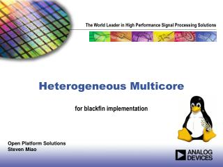 Heterogeneous  Multicore
