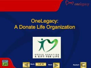 OneLegacy:  A Donate Life Organization