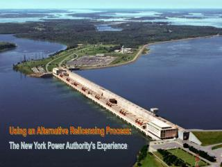The New York Power Authority's Experience