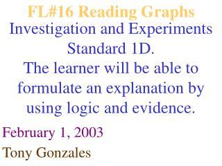 FL#16 Reading Graphs