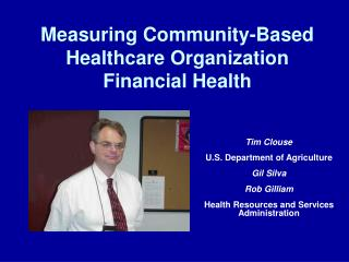 Measuring Community-Based Healthcare Organization Financial Health