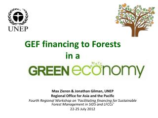 GEF financing to Forests  in a