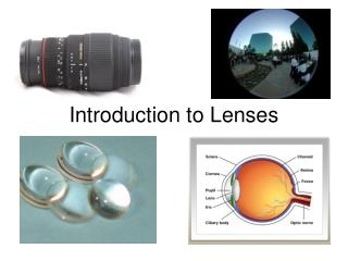 Introduction to Lenses