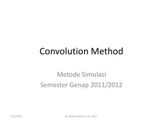 Convolution Method