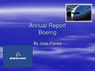 Annual Report Boeing
