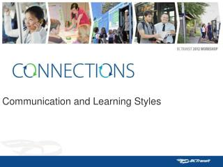 Communication and Learning Styles