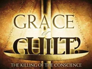 Remove the reality of sin, personal guilt and the human conscience & You Remove the Need for a Savior, repentance and r