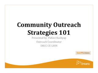 Community Outreach Strategies 101