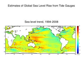 Estimates of Global Sea Level Rise from Tide Gauges