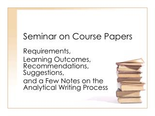 Seminar on Course Papers