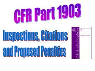 Inspections, Citations