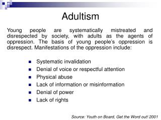 Adultism