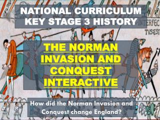 NATIONAL CURRICULUM KEY STAGE 3 HISTORY