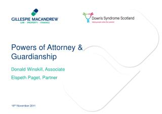 Powers of Attorney & Guardianship