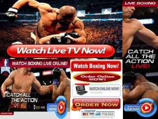 Chad Dawson vs Bernard Hopkins,Live Extream HBO Boxing PPV P