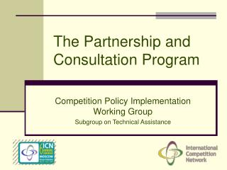 The Partnership and Consultation Program