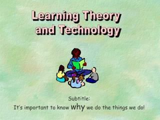 Learning Theory  and Technology
