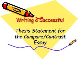 Writing a Successful
