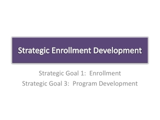 The Essentials of  Strategic Enrollment Planning