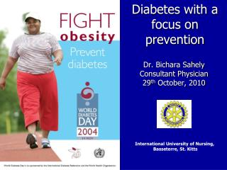 Diabetes with a focus on prevention