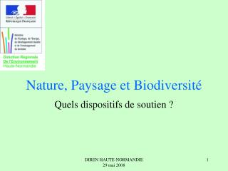 Nature, Paysage et Biodiversité