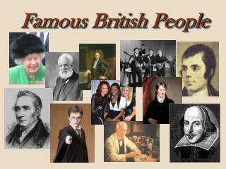 Famous British People