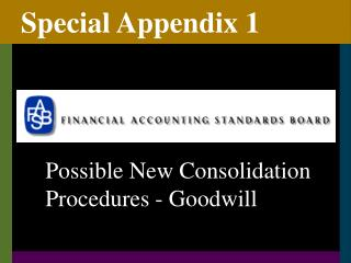 Special Appendix 1