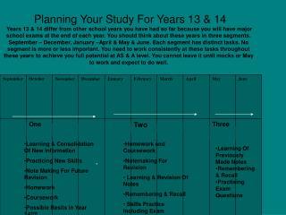 Study Segment 1