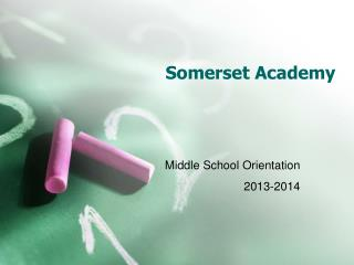 Somerset Academy
