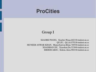 ProCities