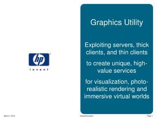 Graphics Utility