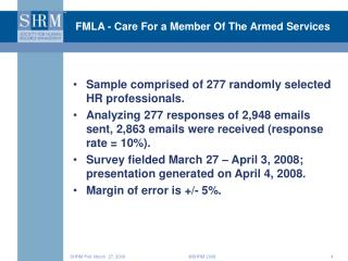 FMLA - Care For a Member Of The Armed Services