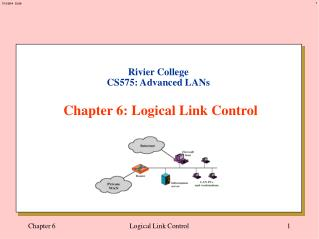 Rivier College CS575: Advanced LANs Chapter 6: Logical Link Control