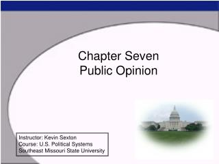 Chapter Seven Public Opinion
