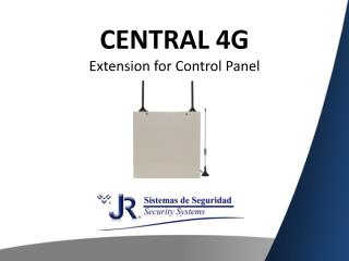 CENTRAL 4G Extension for  Control Panel