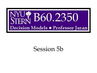 Session 5b
