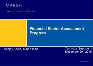 Financial Sector Assessment Program